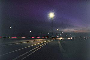 瑞穂野バイパス道路照明