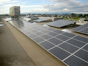 100KW 太陽光発電設備